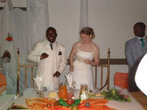lovely happy memories at the wedding of the century. Taung S.A