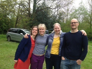 These were taken in Holmfirth, in May 2015, some at a Hackney colliery band gig and then others at a campsite. This was another GU gathering. Catherine wasn't keen on a night in a tent but joined us for bacon sarnies and tea in the morning.